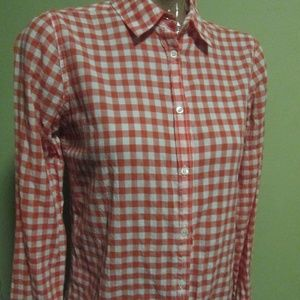 J CREW TOP BLOUSE  BOY SIZE 2